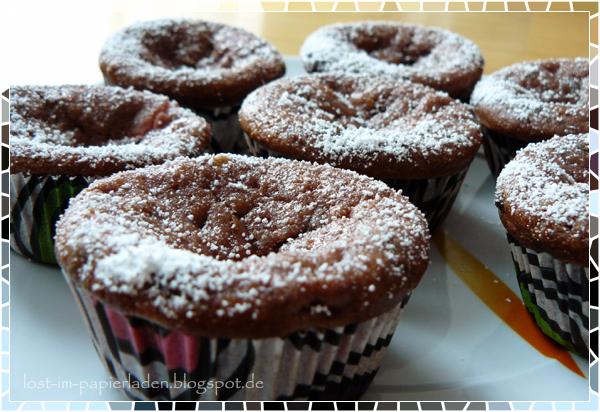lost im papierladen erdbeer joghurt muffins mit erdbeerfrischk sef llung. Black Bedroom Furniture Sets. Home Design Ideas