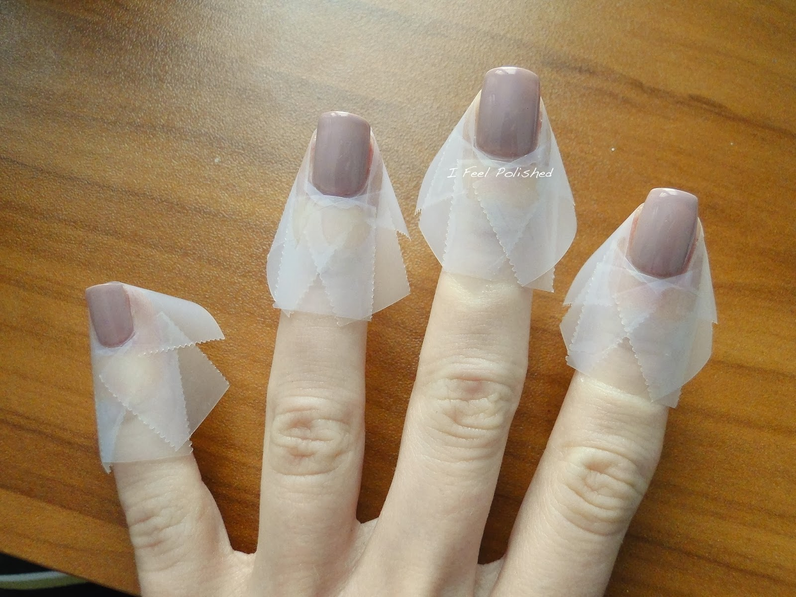 How to Tape Off Your Nails