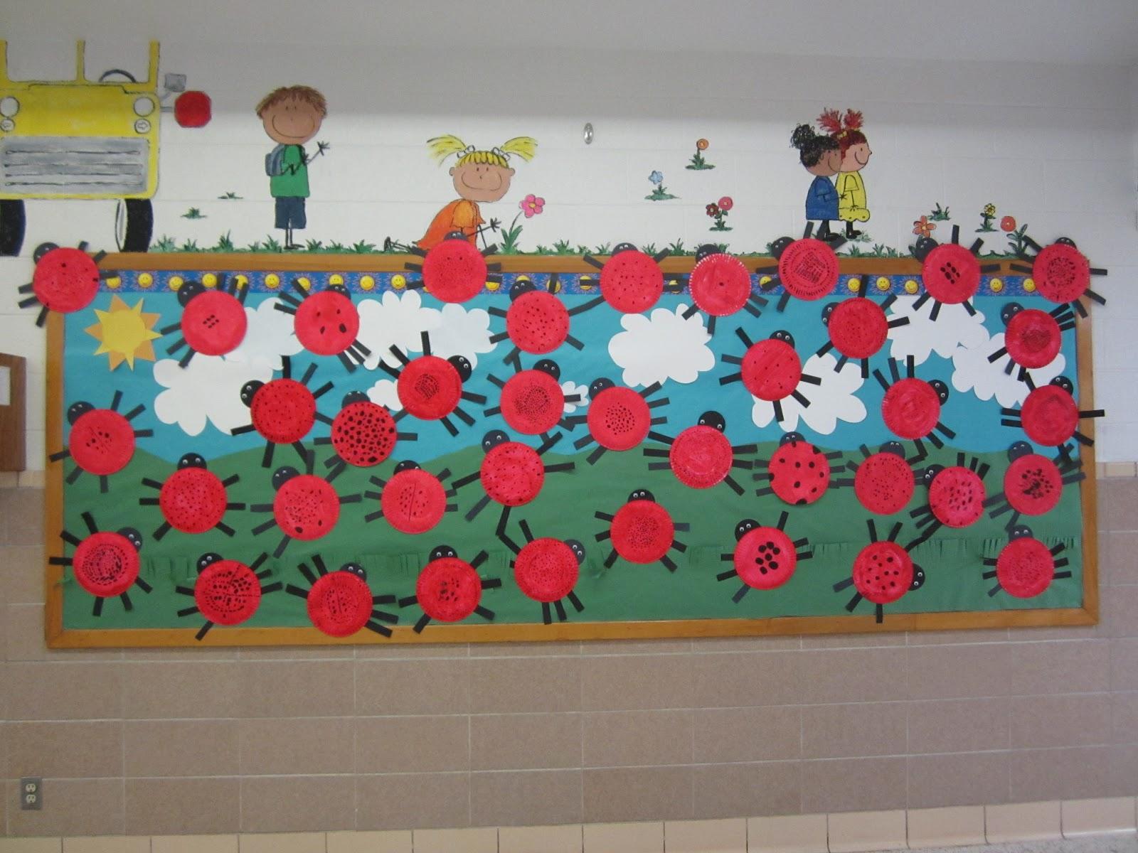 Ladybug Classroom Decoration Ideas : Teaching little miracles ladybugs ladybugs cute bulletin board