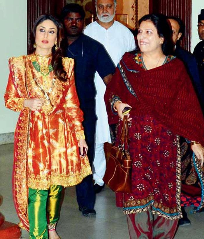Begum Kareena Kapoor Khan at Pataudi family wedding   kareenakapoorkhan