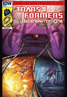 The Transformers: Regeneration One #89 Cover