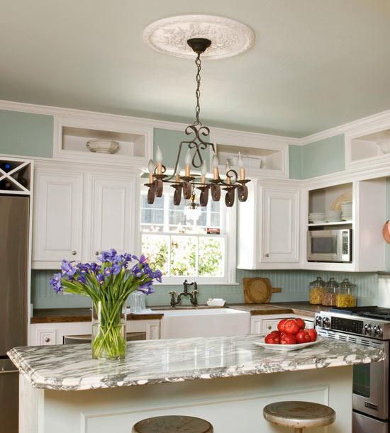 New home interior design kitchen decorating ideas