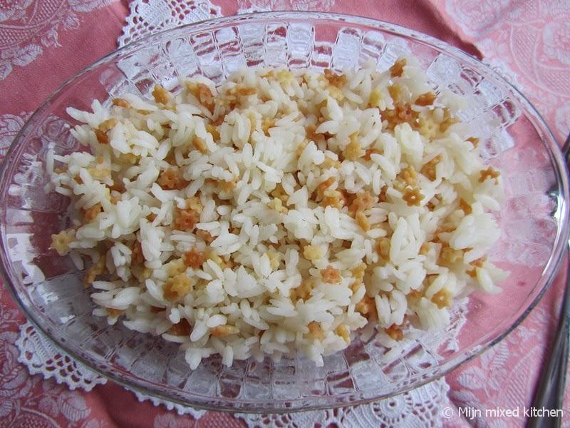 turkse rijst met vermicelli recept