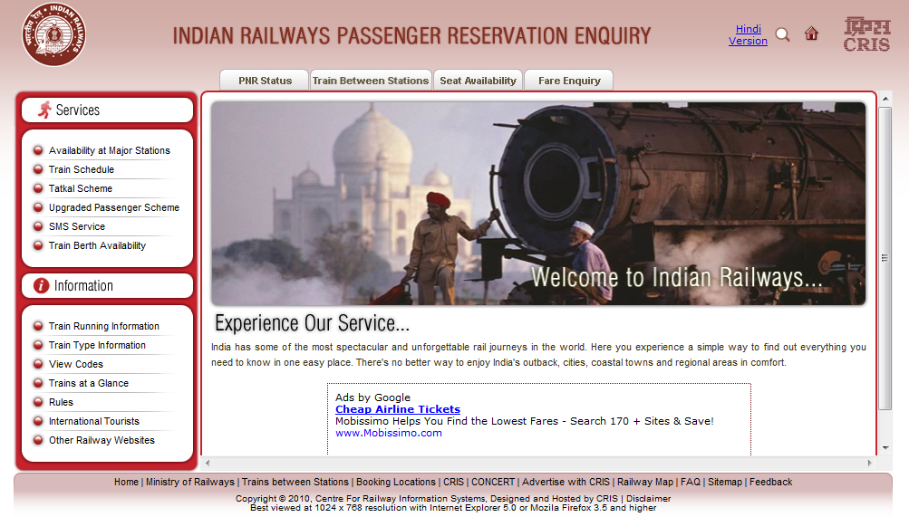 Indian Rail Info: Indian Railways