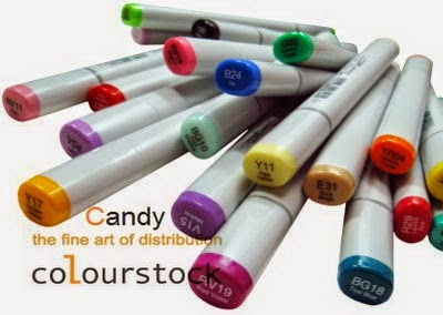 Candy bij Colourstock!