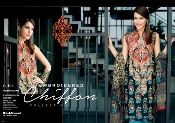 GulAhmed Eid Collection 2014-2015