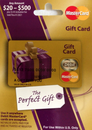 $20 Prepaid MasterCard #Giveaway