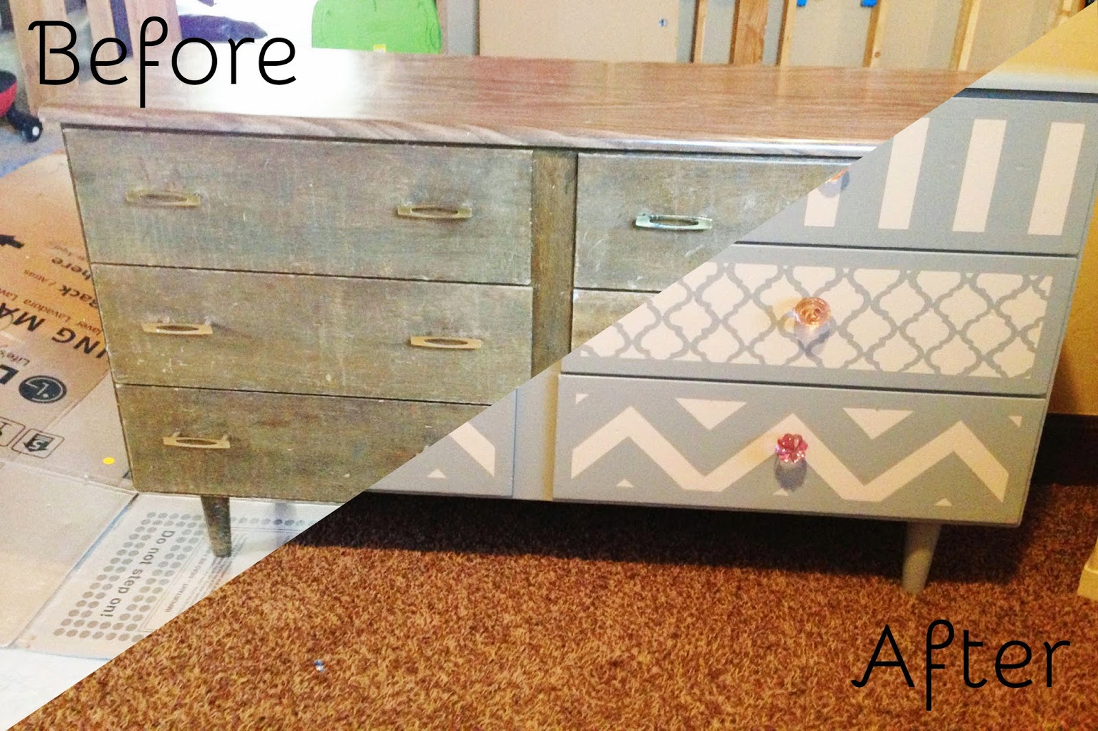 DIY Moroccan Dresser. Hey! Christi Here! One Of My Favorite Things To Do Is  Refinishing Furniture. There Is So Much Joy That Comes With Bring New Life  To An ...
