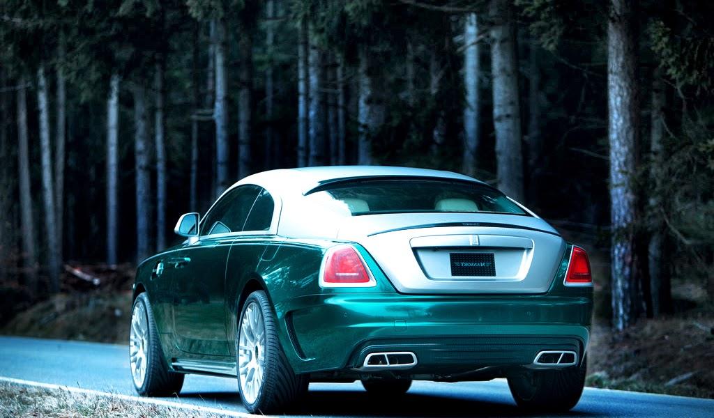 2014 Rolls-Royce Wraith top gear