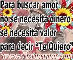 Frases De Amor: Para Buscar Amor No Se Necesita Dinero