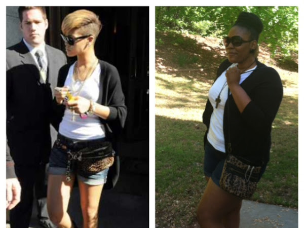 Shorts and a Cardi…Thanks Rihanna! (First Blog Post)