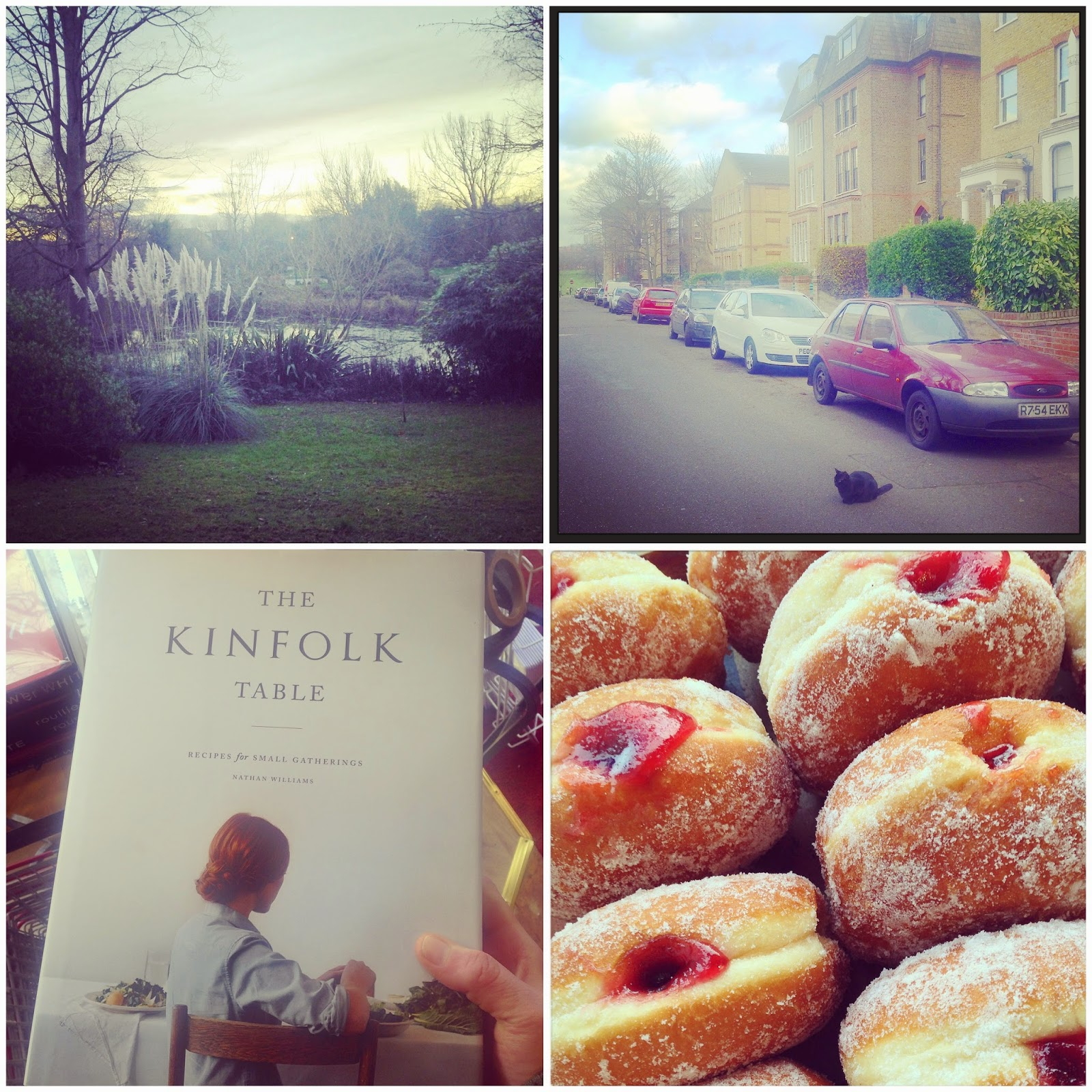 Wells Park, The Gardens in East Dulwich, Doughnuts and The Kinfolk Table