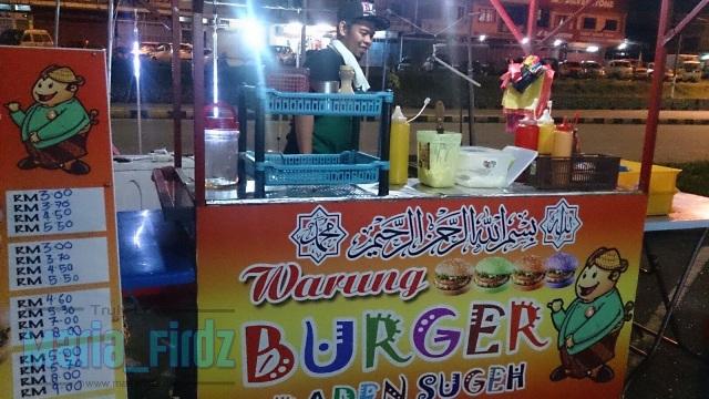 JJCM: Burger Warna Warni Raden Sugeh di Kota Tinggi!
