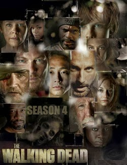The Walking Dead 4 2013 poster