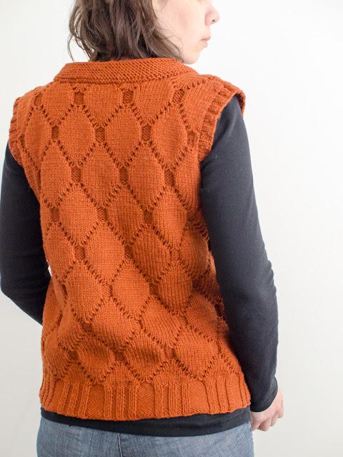 Trapunto jacket by Katya Frankel