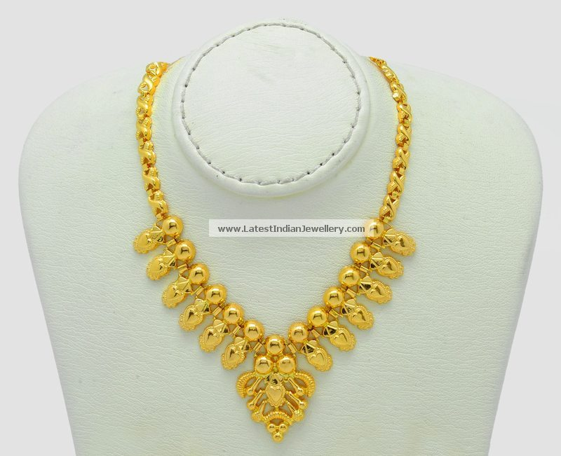 22 Carat Pure Yellow Gold Necklace