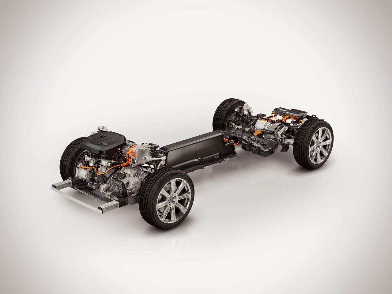 Volvo XC90 T8 chassis