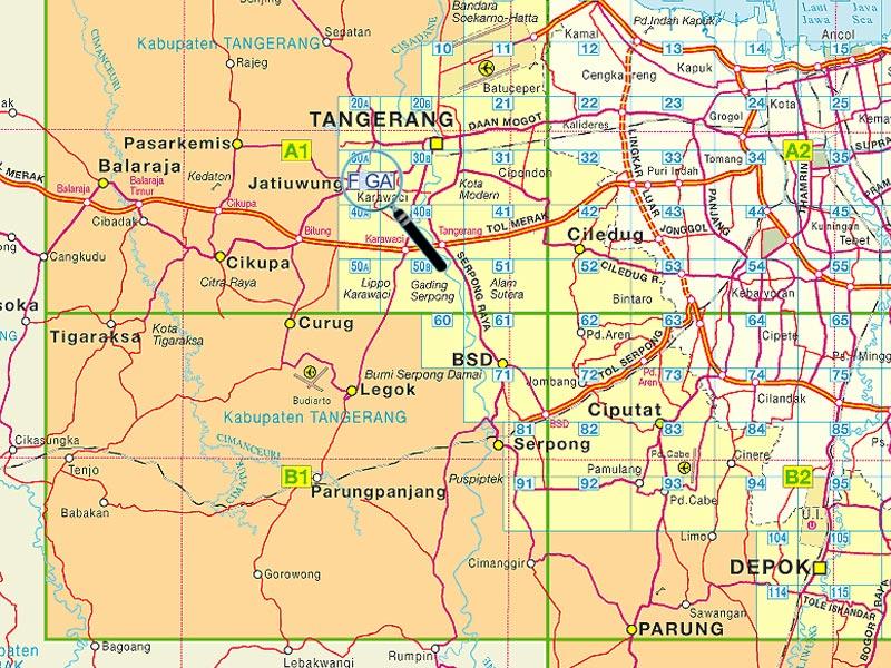 Tangerang Map Urgent Hotel Di Indonesia Alamat dan Tarif Hotel