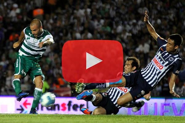 Rayados Monterrey vs Santos En Vivo