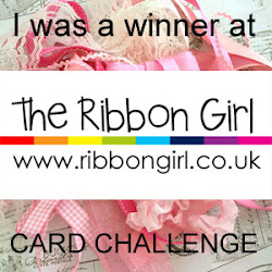Winner The Ribbon girl June Card Challenge