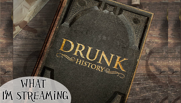 What I'm Streaming: On Comedy Central and Amazon Prime, Drunk History co-produced by Will Ferrell is the retelling of factual events by drunk comedians, acted by real celebrities.