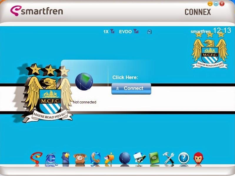 Download Skin Modem Smartfren AC782 Edisi Manchester City F.C