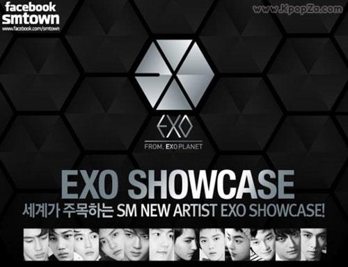 คลิปโชว์เคสของหนุ่มๆ EXO จากบ้าน SMTOWN