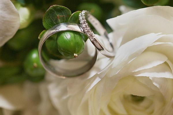 Aldrich Mansion: wedding rings
