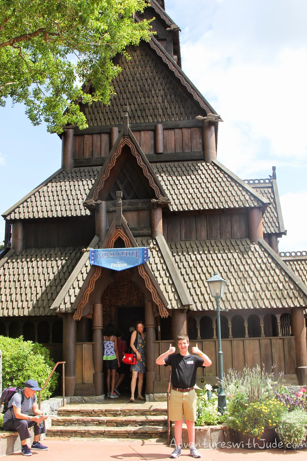 Disney Epcot Norway Stave Church accurate