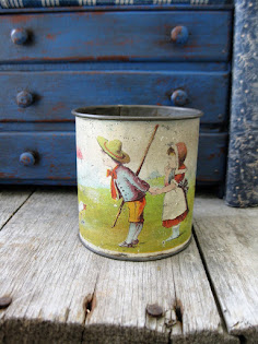 child's tin cup