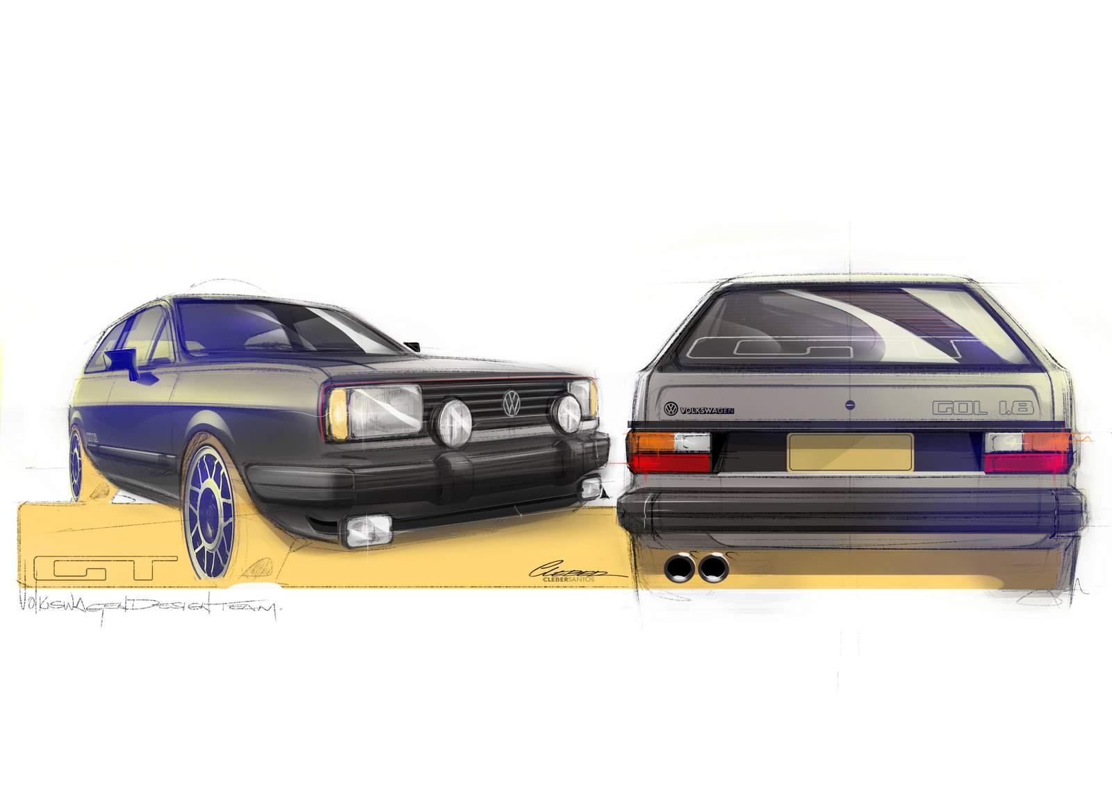 Volkswagen Gol Gt 1.8 1984