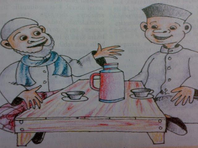 Dialog Ringan Pemuda dengan Seorang Kyai