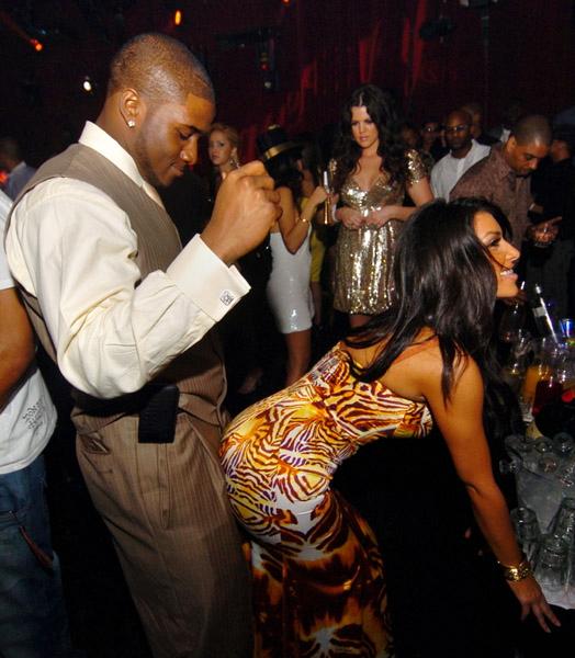 Kim Kardashian Reggie Bush Grinding Kim Kardashian|Kim Kar...