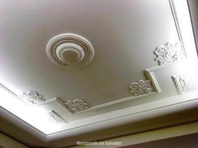 Frio Gostoso: Detalhe do teto vintage da unidade da Graça