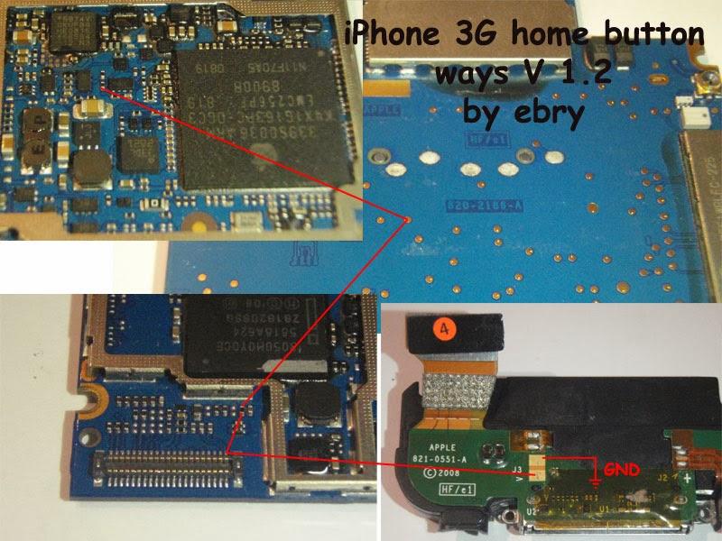 Iphone 3g Home Button Ways