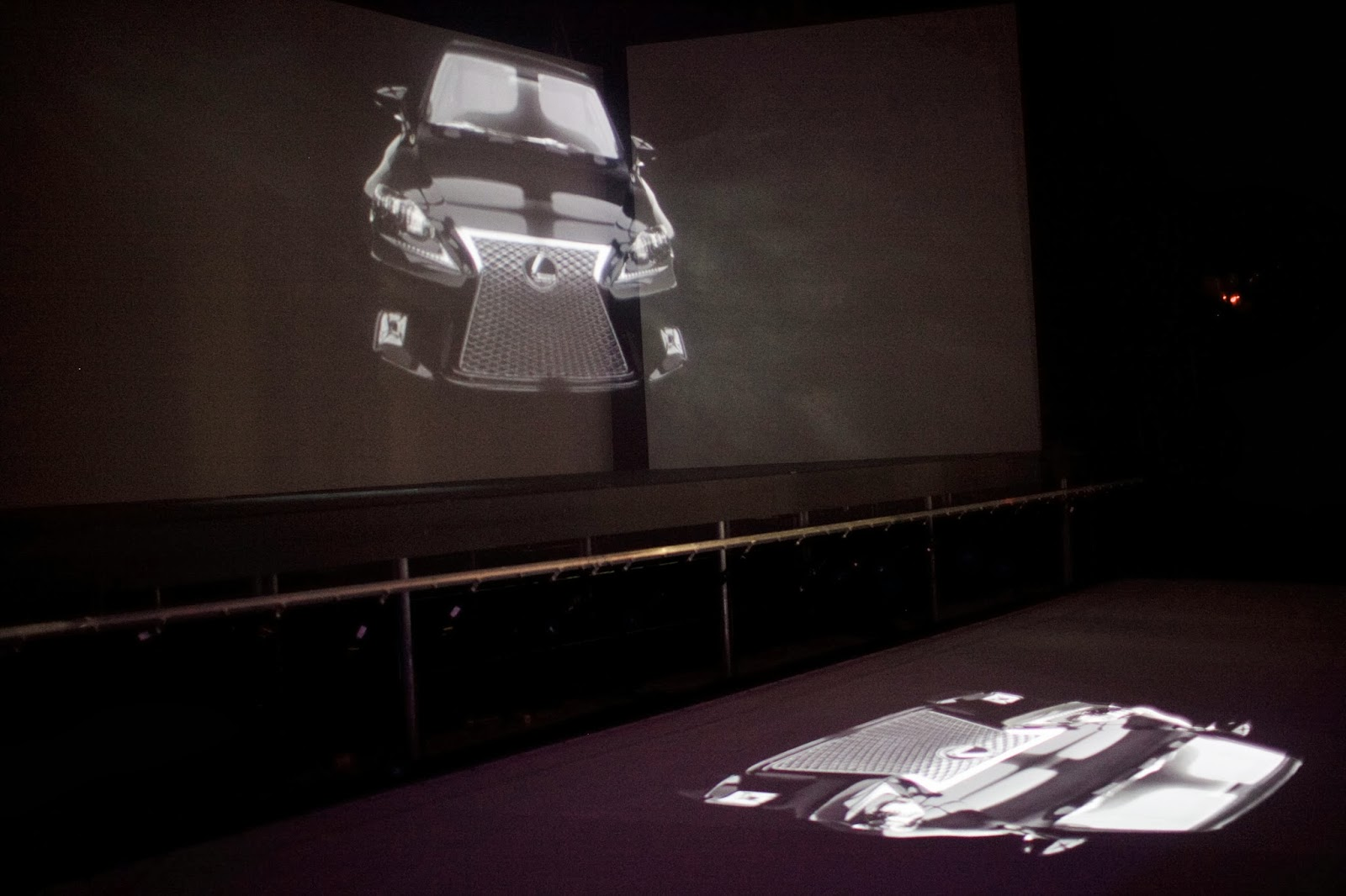 Lexus Design Disrupted 3D Holographic Projection