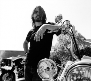 Dave Grohl foo fighters harley celeb on motorcycles