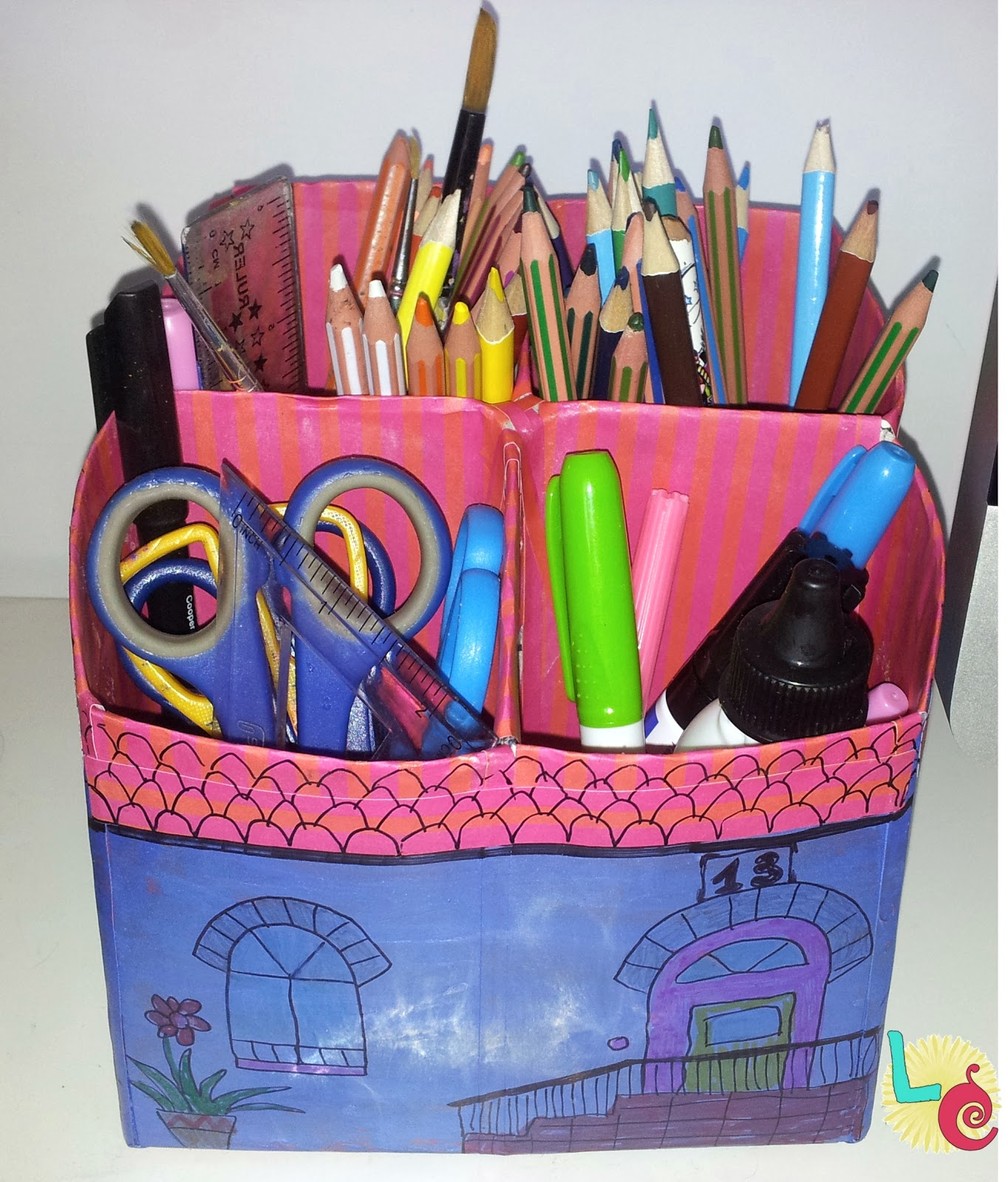 Lovers crafts organizador de escritorio - Organizador de escritorio ...