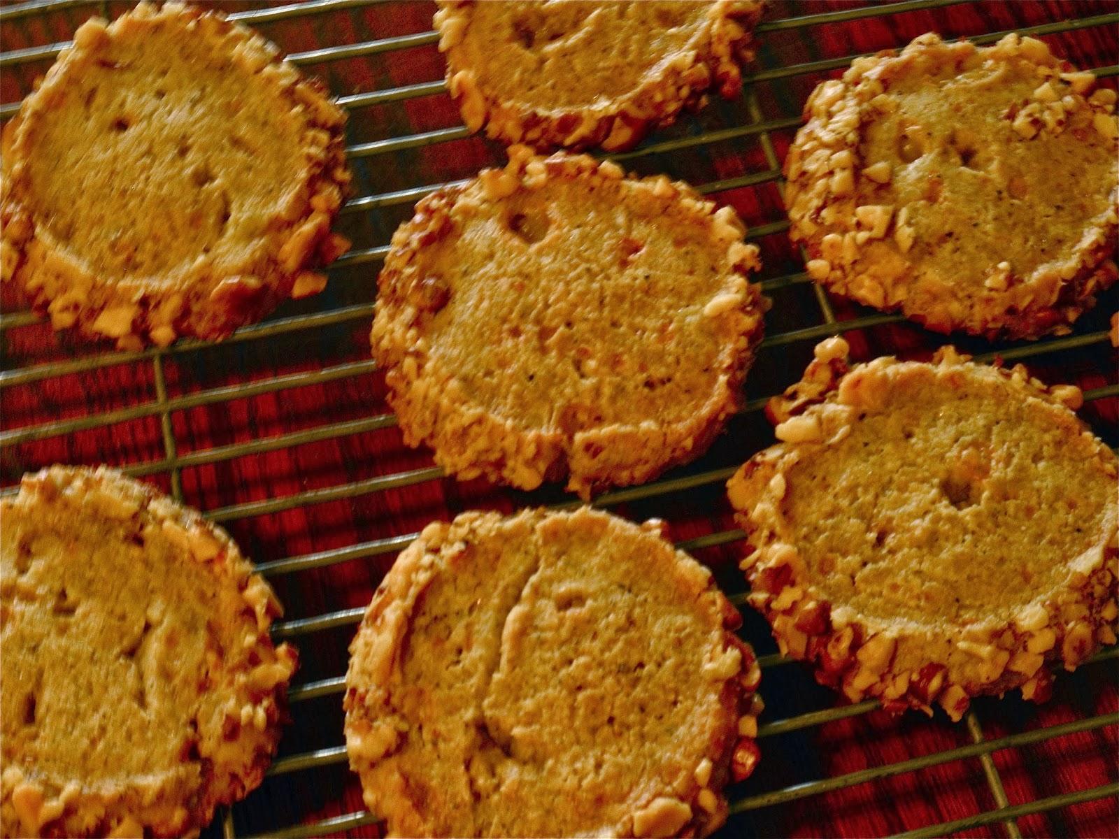 Stilton And Walnut Crackers Recipe — Dishmaps