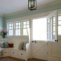 Dutch door openings with horizontal split