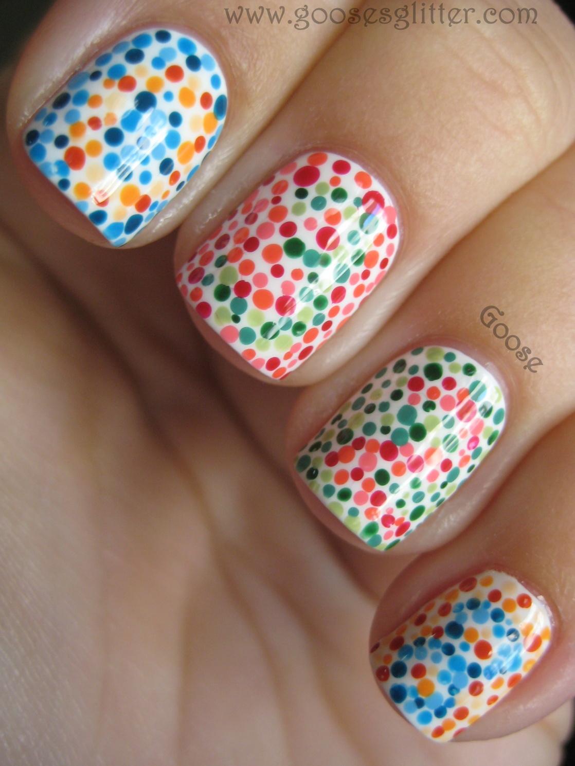 Manicure Color Blind Test