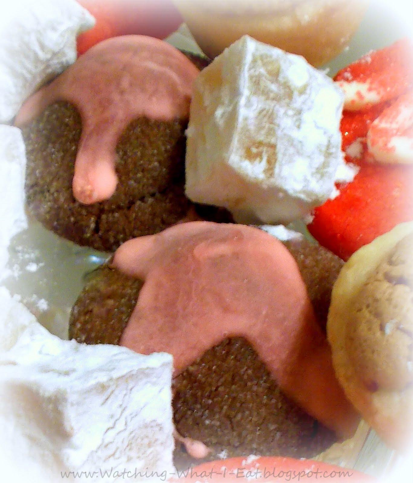 Gourmet Cookies ~ Snowflake Whoopie Pies and Chocolate Cherry Cordials ...