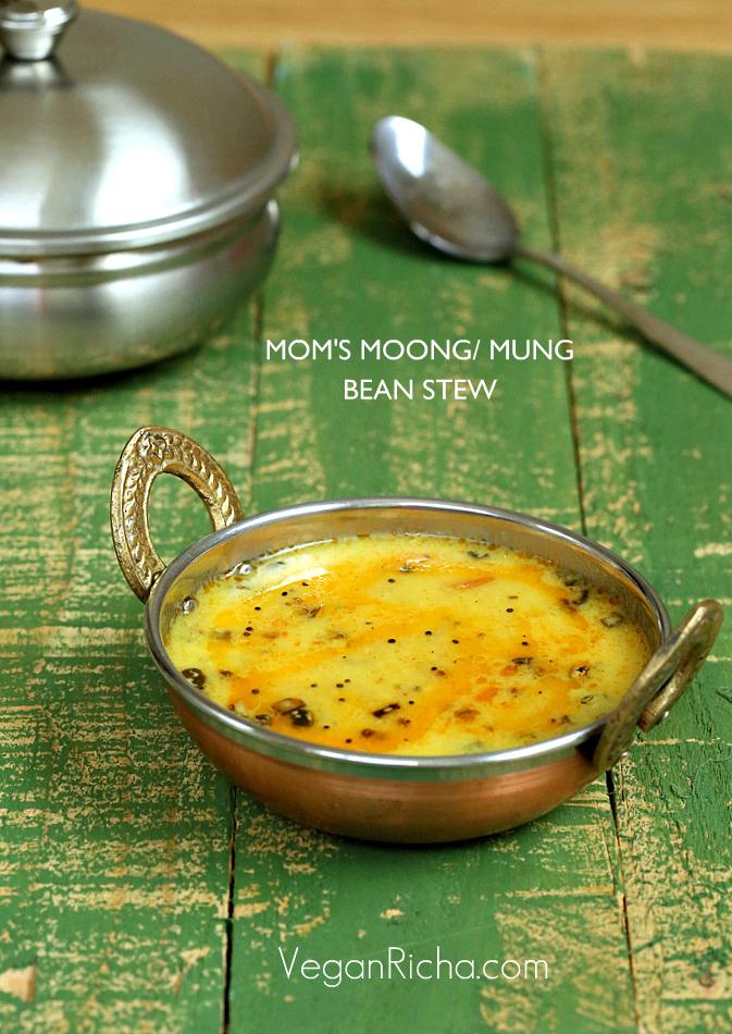 ... Simple Mung Dal with Garlic Chili Tadka. Vegan Glutenfree Recipe