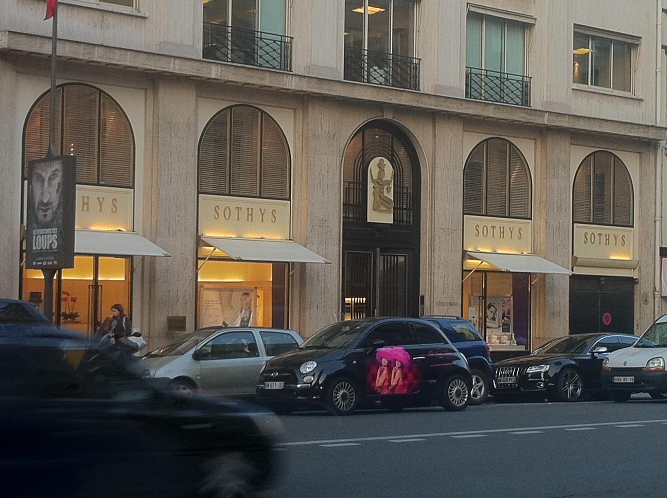 Mon poudrier j 39 ai test le spa sothys de la rue fg st for 128 faubourg salon by sothys