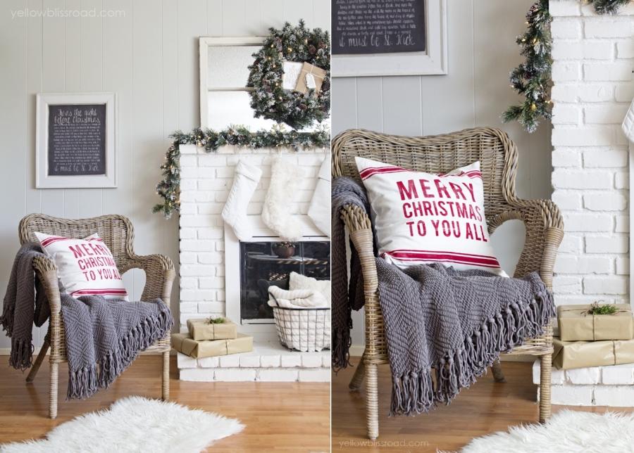 wystrój wnętrz, wnętrza, urządzanie mieszkania, dom, home decor, dekoracje, aranżacje, czerwień, red, Święta, Boże Narodzenie, Christmas, home tour