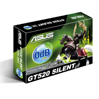 ASUS GT520 GeForce fanless Video Card