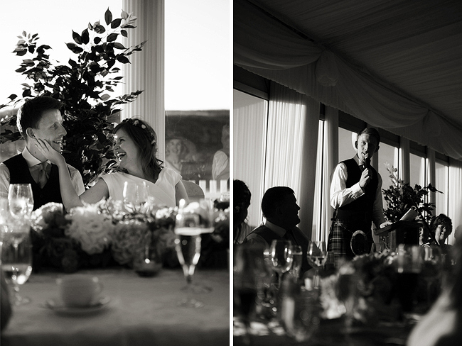 Wedding Photography Doonbeg Ireland, groom speech