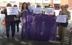 """#EmergenciaFeminista """"Yo haré la noche violeta"""""""