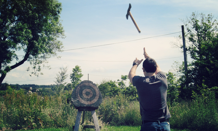Axe Throwing - Try Something New