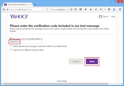 Mengatasi Lupa Password Email Yahoo (2015)